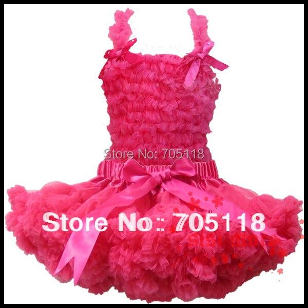 13 options FREE SHIPPING 2014 Boutique Pure Color Baby Pettiskirt Set Chiffon top + skirt Girls Pettiskirts Tutu Suit<br><br>Aliexpress