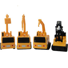 Hot Sale 1 Piece Magic Toy Truck Inductive Car Magic Excavator Tank Construction Cars Truck Vehicles Toy