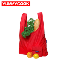 Reusable Foldable Shopping Bag ECO Grocery Outdoor Picnics Pouch Wholesale Bulk Lots Accessories Supplies