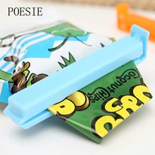 5pcs/lot Bag Clips Food Fresh Keeping Plastic Food Close Clip Home Storage Organization Kitchen Tool Food Snack Sealing Bag