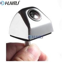 3 colors ccd HD parking cameras Anti-Fog waterproof Backup Car Rear View Night Vision Parking Camera Kit Front camera Zinc alloy