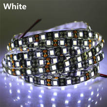 50cm 1m 2m 3m 4m 5m Black PCB SMD5050 LED Strip light 12V 60LEDs/m LED Diode Tape Black Lamp Waterproof RGB LED Ribbon lighting