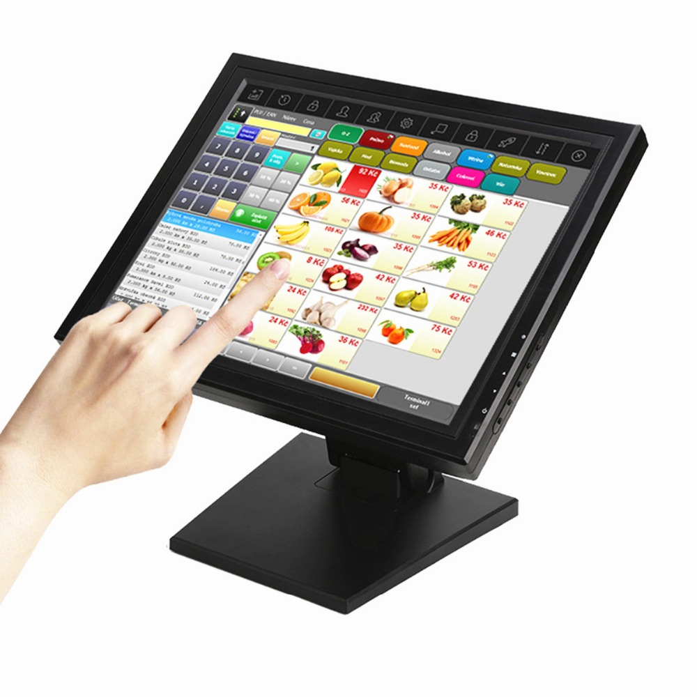 15 inch touch monitor pos