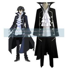 Pandora Hearts Raven Black Uniform Cosplay Costume(China)