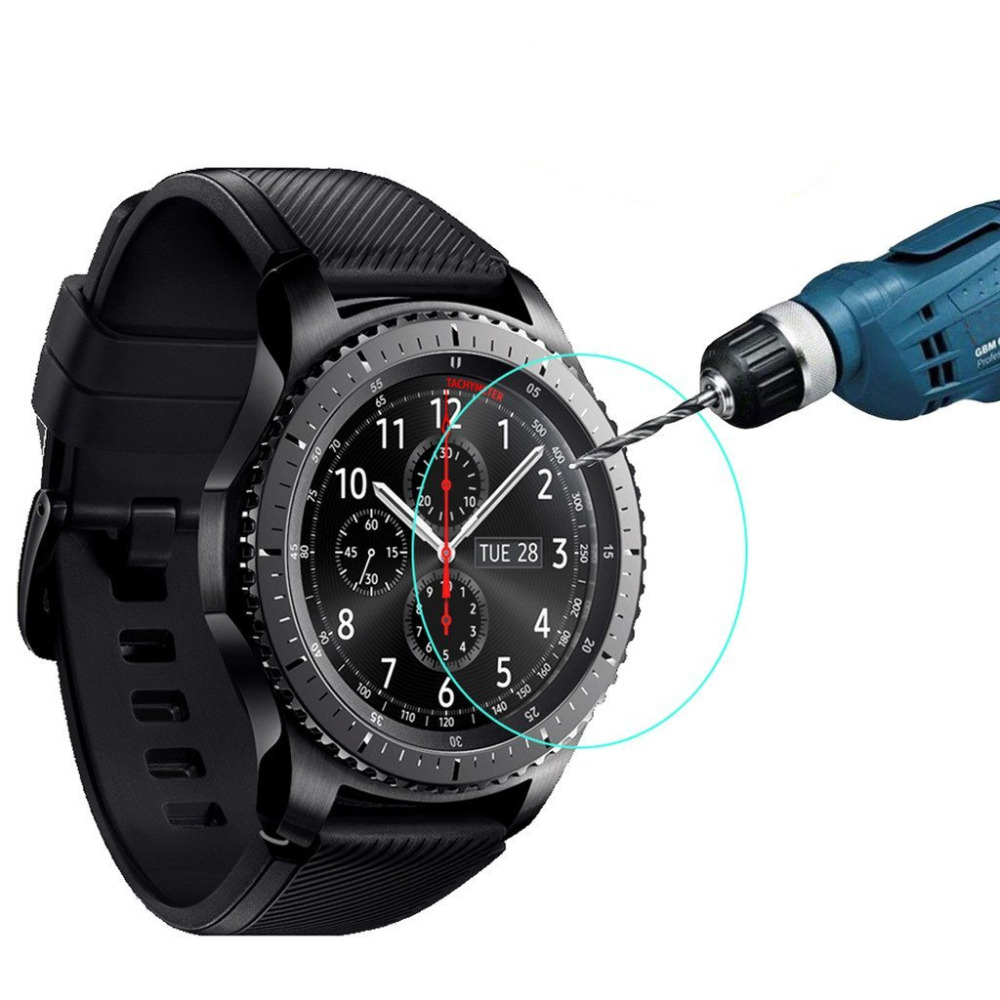 Smartwatch-Film-For-Samsung-Gear-S3-Frontier-Classic-Screen-Protector-9H-2-5D-Explosion-proof-Tempered