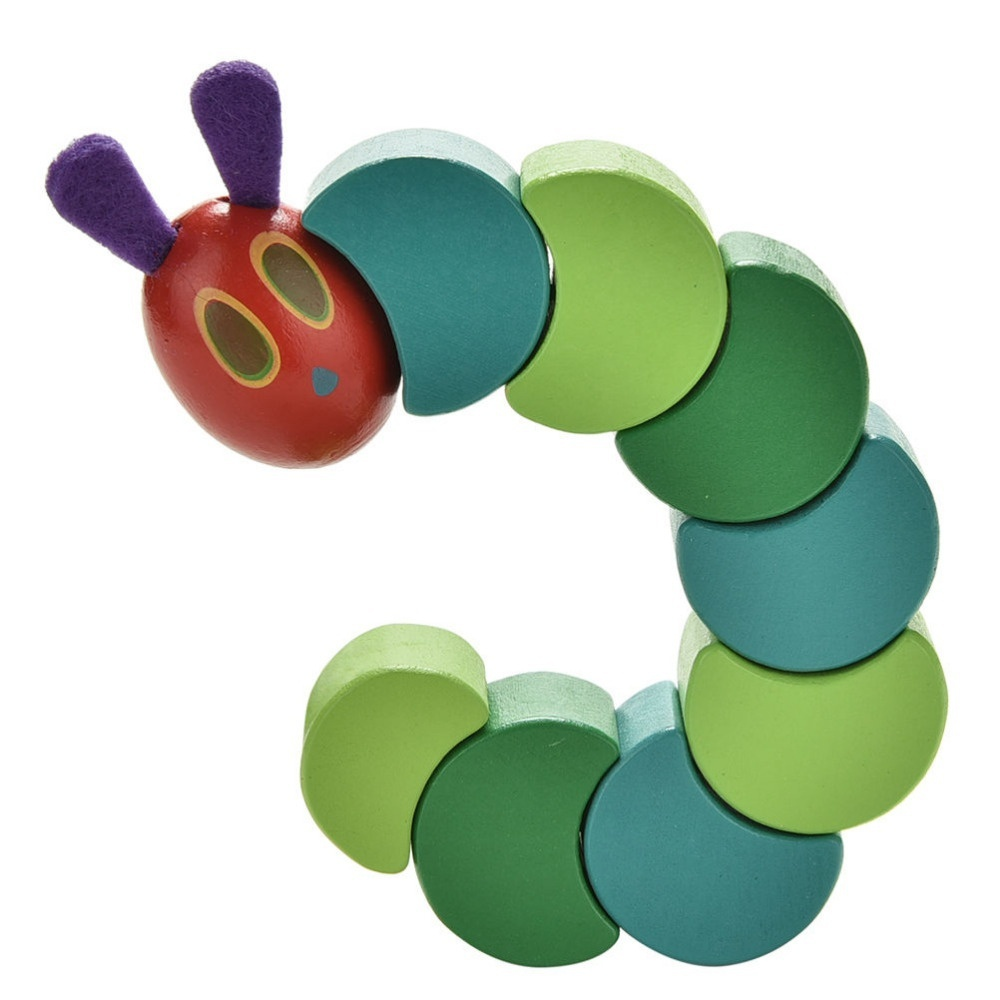Baby Boy Girl Pacifier Clip Holder Ribbon The Very Hungry Caterpillar Eric Carle