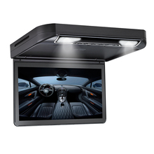 1920*1080 13.3 inch TFT-LCD Car Ceiling Roof Mount Monitor Car DVD Video Player Monitor Touch Button Built-in Speaker FM HDMI SD