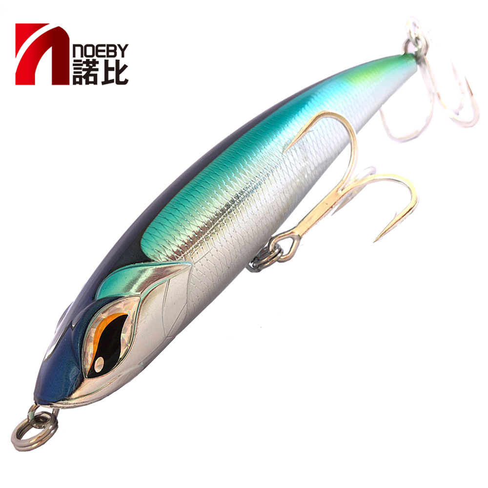 2019 NOEBY NBL9493 pelagus 115mm/150mm/185mm  Pencil Lure VMC Hook Wobbler Hard Lure Carp Bass Isca Artificial Para Pesca