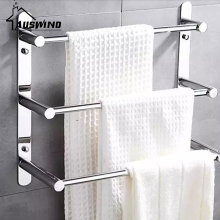 60cm Length 304 Stainless Steel Towel Ladder Modern Towel Rack / Towel Bars Bathroom Towel Rack(China)