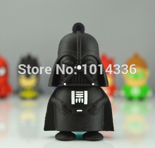 star war cool black Worrior USB flash Drive Card Memory Stick Drives Memory stick/Thumb/drive/car/Gift 2.0 creative Pendrive