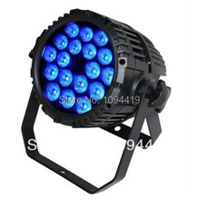 A- (30/lot) 18x10w rgbw 10w led par outdoor led par DJ Lightning Sound Active Party Home