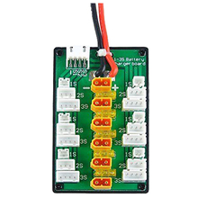 ABWE Best Sale XT30 Parallel Charging Board for 1S 2S 3S LiPo Batteries