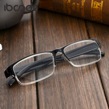 Iboode Clássico Luz Lente de Resina Óculos de Leitura Das Mulheres Dos  Homens Óculos Óculos Para Presbiopia com + 1.0 + 1.5 + 2. 15f7afa0b0