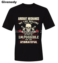 aircraft mechanic Car Mechanic impossible for the ungrateful Mens & Womens Casual Short Sleeve Cotton T Shirt