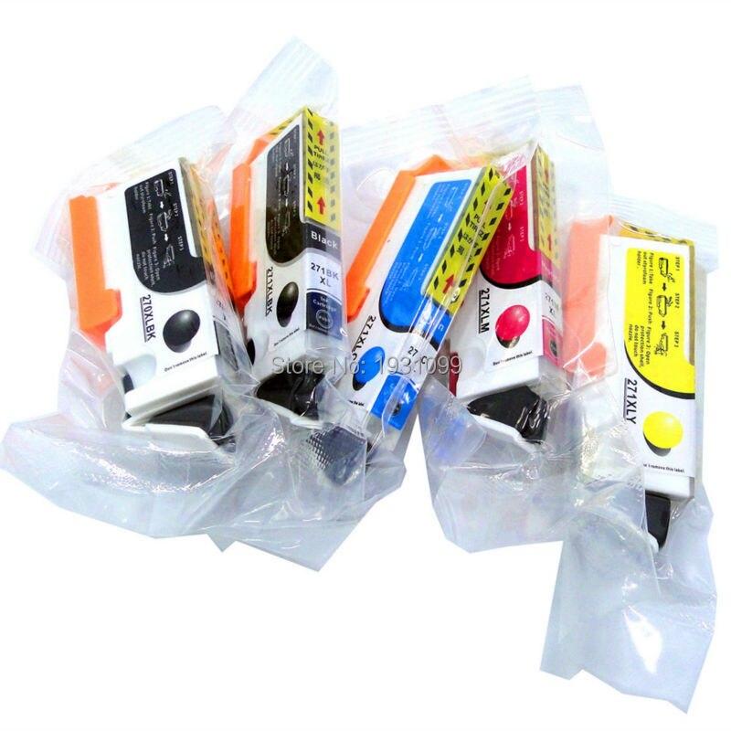Compatible ink cartridge for canon PGI-270XL CLI-271XL PGI 270 CLI 271 for canon PIXMA MG5720/MG5721MG5722MG6820MG6821/MG6822<br>