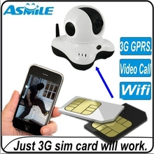 with 3G sim card real 3G network surveillance Camera 3G ip Camera