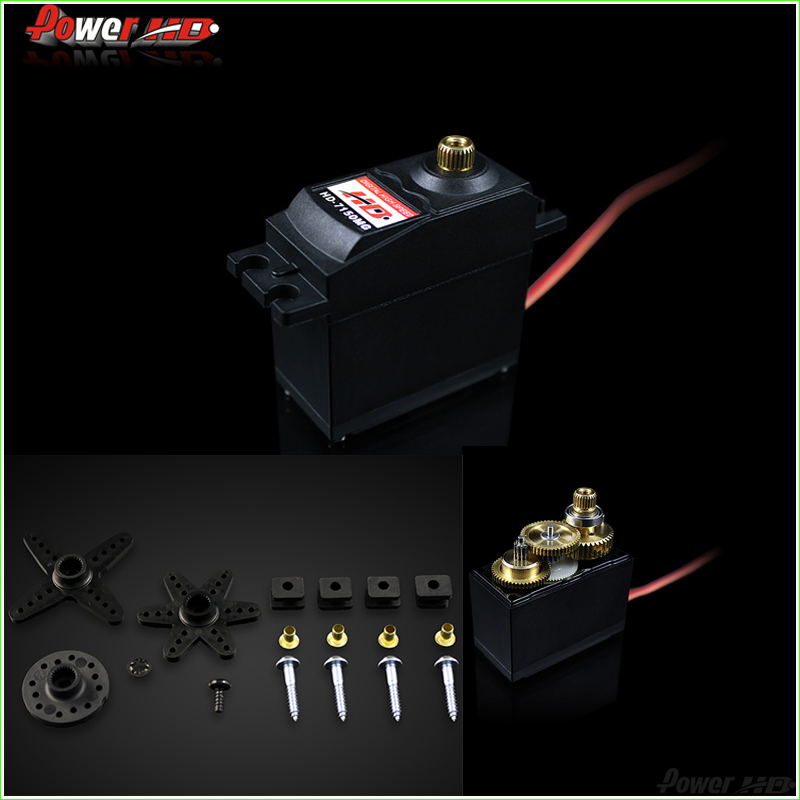 1Pcs Power HD-7150MG 7.2KG high torque metal gear digital servo 26-30cc gasoline engine applies 0.19 sec (4.8V) 0.14 sec (6.0V)<br><br>Aliexpress