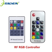 OSIDEN RF Remote controller RF Wireless Led rgb Light Strip Dimmer Controller For RGBSMD5630 SMD5050 SMD3528 17key 20key 5-24v(China)