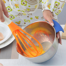 Multifunction 2 in 1 rotary egg beaters food-grade PP whip instruments cook detachable washable mixer blender egg