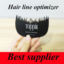 Toppik hair line optimizer hair comb Hair loss Care use for Instantly Hair Growth Fiber black color comb(China)
