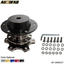 AUTOFAB - Quick Release Snap Off Hub Adapter fits Car Sport Steering Wheel For Honda Civic Accord S2000 Prelude CRX AF-CA0011
