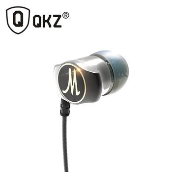 QKZ X10 En La Oreja Los Auriculares Bajos Pesados auriculares Original HIFI DJ WIred Fone de ouvido fone de ouvido Auriculares Con Aislamiento de Ruido