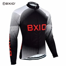 Bxio Long Sleeve Pro Cycling Jersey Winter Cycling Clothing Portugal Jersey Hot Maillot Ciclismo Mujer Uniforme Ciclismo 057J(China)