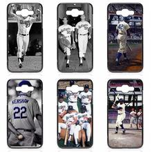 Phone Case Cover Shell La Dodgers Cool Baseball For Samsung Galaxy S3 S4 S5 Mini S6 S7 S8 Edge Note 2 3 4 5 A3 A5 A7 A8 J1 J5 J7