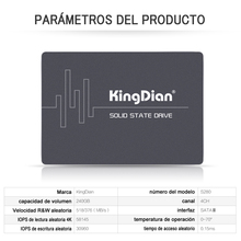 (S280-240) KingDian 328 Free Shipping High Performance Solid Hard Drive HD HDD SATAIII 2.5 TLC Flash Internal Style SSD 240GB(China)