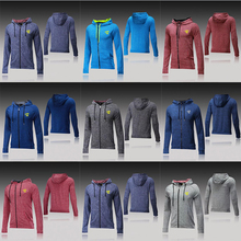 SEA PLANETSP 2017 soccer tracksuit training suit 17/18 survetement football tracksuit jogging skinny shirt best quality(China)