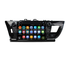 NaviTopia 9Inch Quad Core Android 5.1 Car Radio Stereo For Toyota Corolla 2014 Car PC+Radio Stereo+Bluetooth+WiFi+Mirror Link(China)