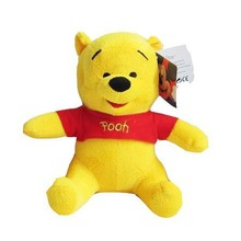 "Free Shipping 28cm=11"" Yellow Bear Stuffed Animals Toys Plush Doll,Stuffed Bear Plush Toy For Girl Friend/Children Best Gift"