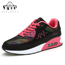 2016 Running Shoes For Women High Increasing Sports Sneakers Mesh Insole Breathable Run Shoe Woman Size 35-40(China)