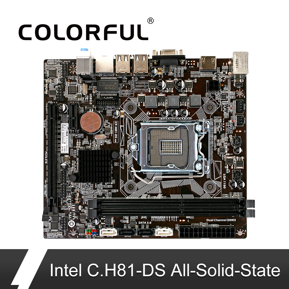 Onda H310C-SD3 Ver 2.0 Motherboard LGA 1151 DDR3 Memory 16G SATA3.0 M.2 VGA//HDMI Main Board Intel H310C M-ATX 4-core Processor