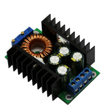 DC - DC step-down Adjustable Constant voltage constant current high-power 12A solar battery charging LED Drive car power module(China)