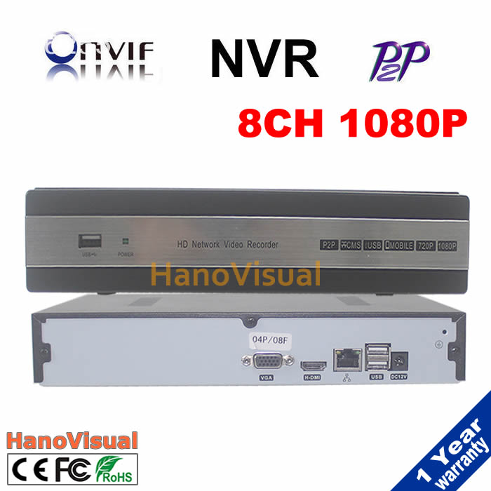 New arrived 8 Channel HDMI Full CCTV NVR 8CH 1080P Network Video Recorder Support ONVIF for IP camera cctv security system kit<br><br>Aliexpress