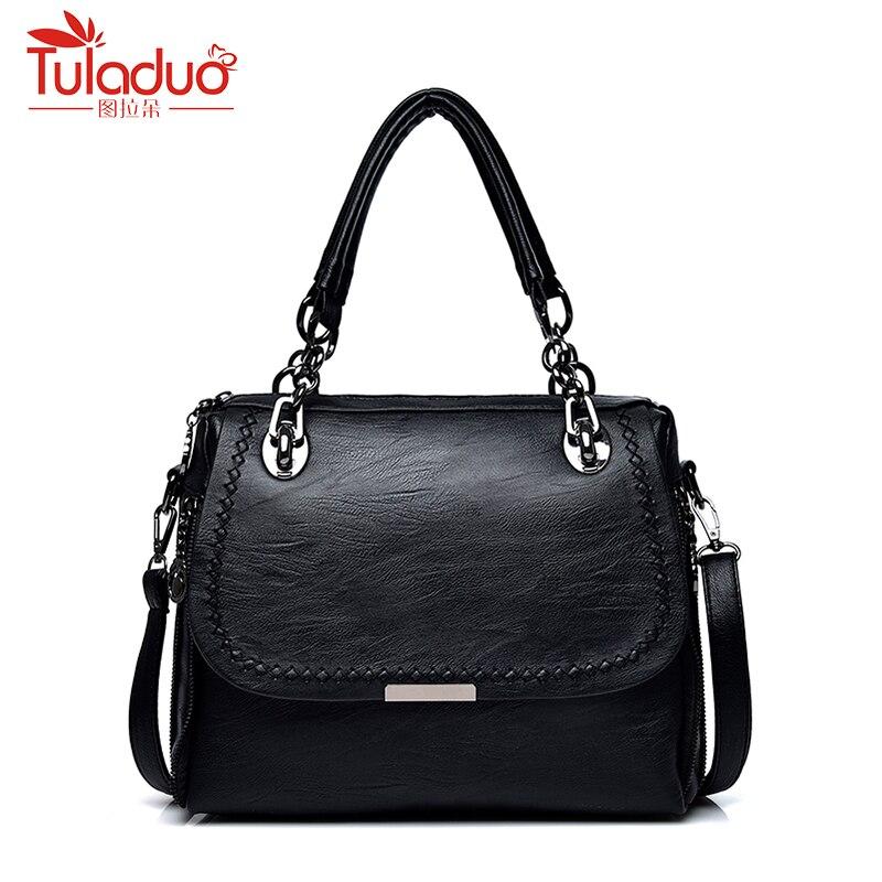 Designer Genuine Leather Bags Women Handbags Fashion Women Shoulder Bags High Quality Sheepskin Leather Women Top-Handle Bags<br>