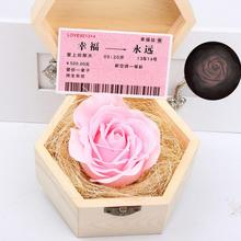 Luminous Soap Rose Colorful soap flower simulation flower material rose head color rose flower wedding Valentine Birthday Gift