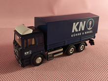 Brand New JOYCITY 1/72 Scale Germany MAN Kuehne & Nagel Truck Diecast Metal Car Model Toy For Gift/Kids/Collection/Decoration