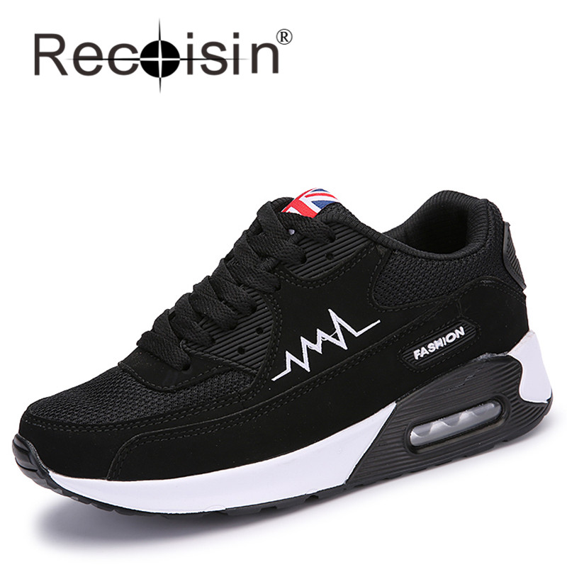 RECOISIN 2017 Brand Men Casual Shoes Trainers Breathable Sport Man Shoes Casual Outdoor Walking Men Flats Zapatillas Mujer 6001<br><br>Aliexpress