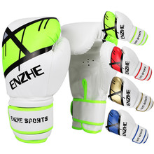 12oz colored Boxing Gloves Men/Women punch Sandbag Muay Thai Fighting Training MMA glove mittens sparring kickboxing gloves UFC(China)
