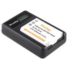 Probty NP-95 NP95 Battery +  LCD Charger for Fujifilm X30  X100 X100S X100T  X-S1  FinePix F30 F31 fd F31fd FinePix Real 3D W1