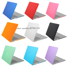 Hot Sale! Ultra Thin Hard Matte Case For Apple Macbook Air Pro Retina 11 12 13 15 Laptop Cover Bag For Mac book 13.3 inch