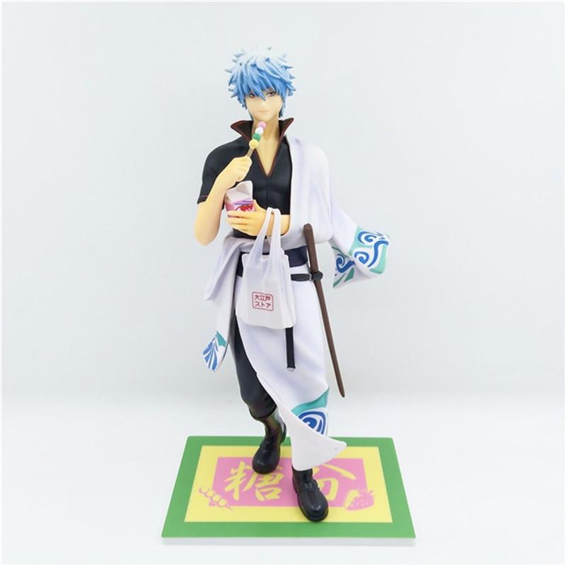 GINTAMA Silver Soul Sakata Gintoki Amatou Ver. PVC Action Figure Collectible Model Toys Doll 23cm<br>