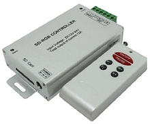 RF SD card RGB Controller;DC12~24V input; output: 3 channels; size: 28*64*24 mm; wireless led dimmers(China)