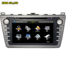 NaviTopia 8 inch Professional Wince Car Radio DVD Player For Mazda 6 2008- With GPS Navigation Free Map