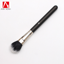 1pcs Black Feature Wood Handle Natural Synthetic Duo Fiber 159 Smooth Refine Paddle Shaped Blush Brush(China)