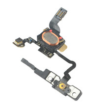 with Tracking Number Original Power Button Flex Cable Ribbon For iPhone 4 4G Light Sensor Power Switch On / Off Repair Parts