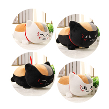 "1pcs 12"" 30cm Natsume Yuujinchou Nyanko Sensei Plush Cat Anime Doll Toy Xmas Christmas Gift(China)"