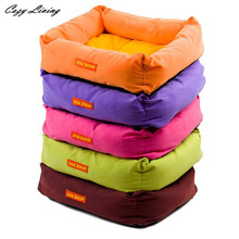 Pet Bed For Dogs 1 PC Pet Dog Puppy Cat Warm Bed House Plush Cozy Nest Mat Pad 42cmX35cmX13cm Pet Bed Sofa Wholesale D28(China)